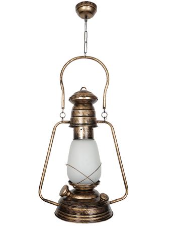 Golden Chimni Hanging Light Lantern Pendant Lamp (Gold)