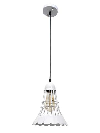 Badminton Shuttlecock Tennis Shuttle Pendant Lights Lamps Hanging Light (White)
