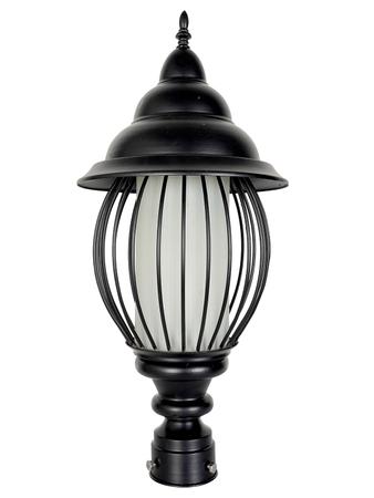 Bird Cage style Outdoor Exterior Light/Gate Light, Pole Light, Pillar Lamp, Garden Light (Silver)