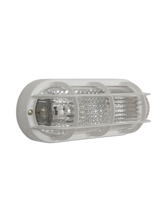 Water Resistant Capsule Glass and PVC Outdoor Bulkhead Light