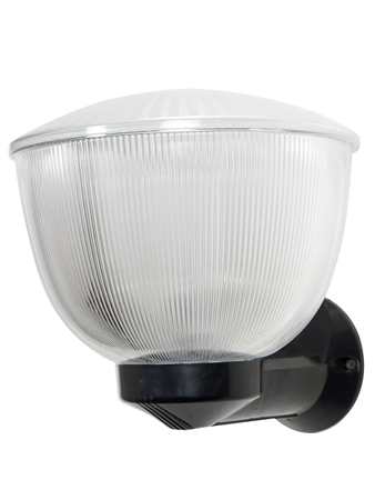 Modern Prismatic Covered Arcylic Round Outdoor Wall Light