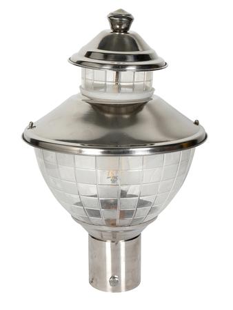 Metallic Waterproof Decorative Stainless Steel and Acrylic Outdoor Exterior Light/Gate Light, Pole Light, Pillar Lamp, Garden Light (Silver)