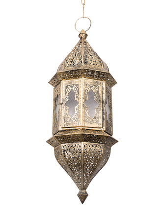 Moroccan Glass Hanging Pendant Light