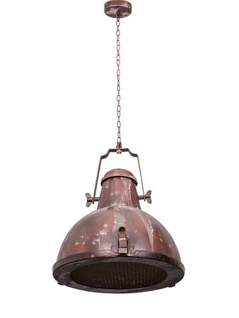 Nautical Rustic Brown Industrial Pendant Light