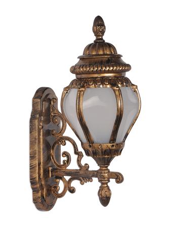 Ornate Victorian Antique Golden Outdoor Wall Light