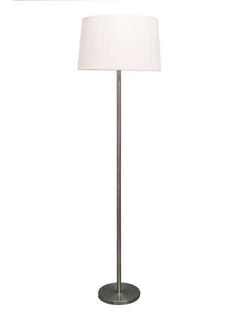 Satin Steel Floor Lamp
