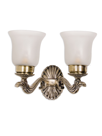Allure Crown Small Double Wall Sconce