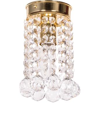 Mini Crystal Ball Flush Mount Ceiling Lamp