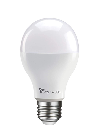 Syska E27 Base 12 Watt LED Bulb (Warm White Light)