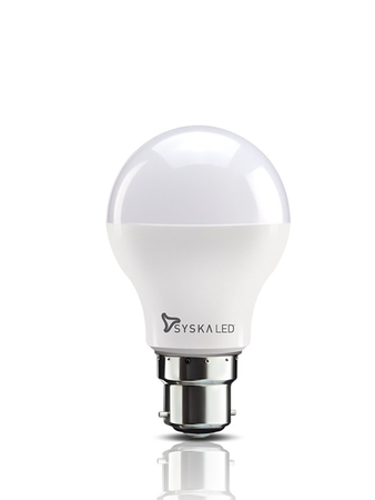 Syska B22 Base 12 Watt LED Bulb (Cool Day Light)