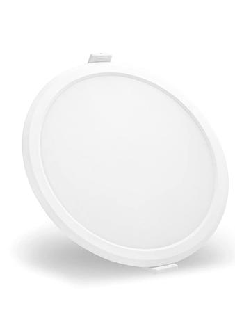 Syska RDL 8 Watt Round LED Recessed Panel Light (Warm White)