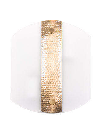 Hammered Antique Wall Light