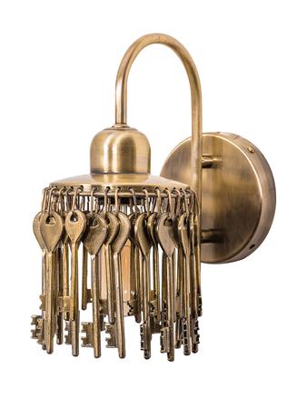 Treasure Keys Wall Light