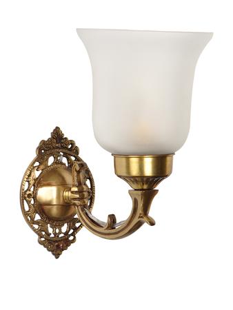 Small Traditional Brass Single Wall Light