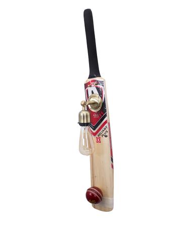 Cricket Bat and Ball Wall Light