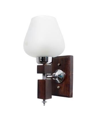 Martin Wood Goblet Glass Single Wall Light
