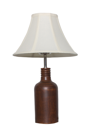 Country Wooden Bottle Small Table Lamp