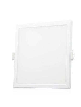 Syska RDL 12 Watt Square LED Recessed Panel Light (Warm White)