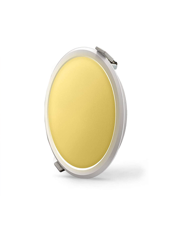 Syska RDL 12 Watt 3 in 1 Round LED Recessed Panel Light -  Changes in 3 Colours on Switching On & Off  (White, Natural and Warm)