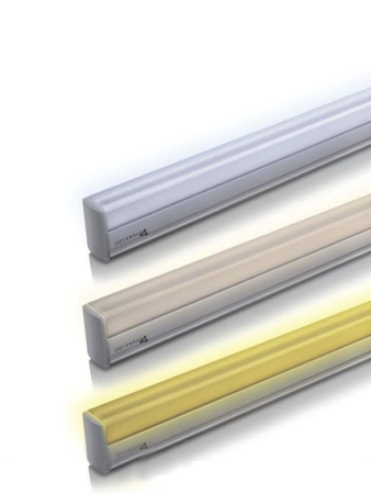 Syska 22 Watt 3 in 1 Square LED Tube Light - Changes in 3 Colours on Switching On & Off (White, Natural and Warm)