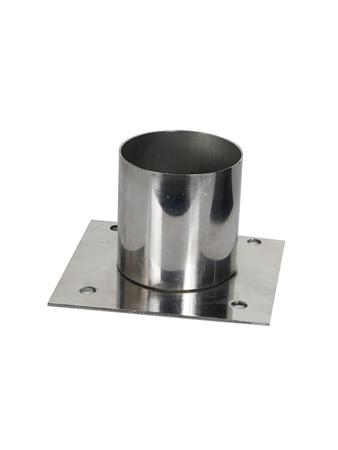 Gatelight Clamp Outdoor Gate/Pillar/Garden Light Stand (Silver)