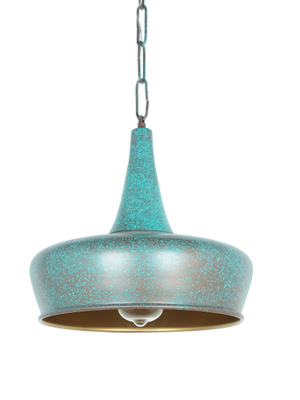 Patina Onion Small Dome Hanging Light