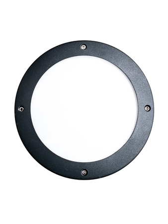 10W Round LED Bulkhead Wall or Ceiling Light - Warm White