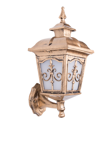 Londonderry Antique Golden Small Outdoor Wall Sconce