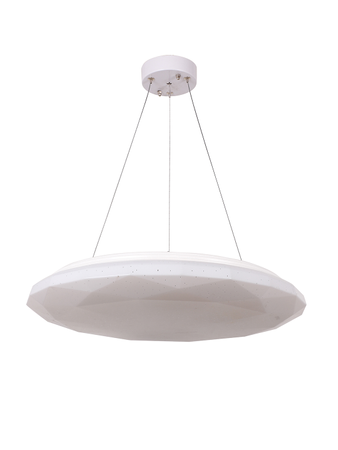 Opple 22W LED Dual Color Tunable Diamond Polycarbonate Pendant Light