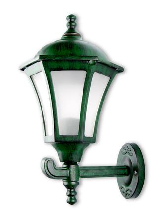 Classic Antique Green Outdoor Wall Light