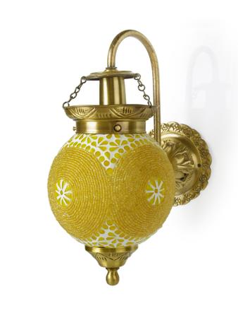 Chandni Gola Energy Saver Brass Sconce
