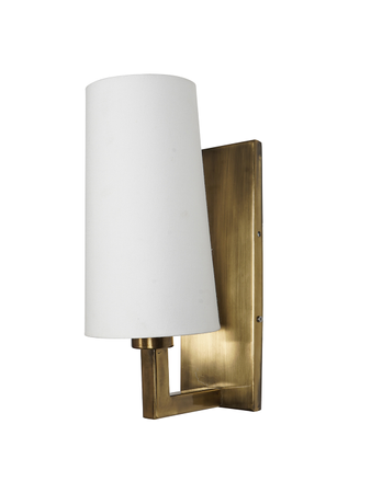 Modern Wall Light/Lamp/Sconce with Antique Brass Finish Conical Decorative Wall Lights and Lamps for Home Decoration in Contemporary Style