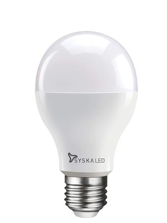 Syska E27 Base 7 Watt LED Bulb (Warm White Light)