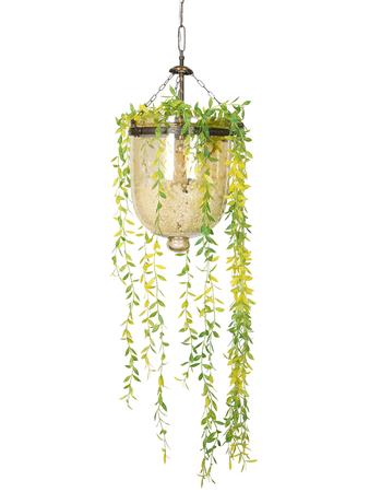 Planter Glass Jar Hanging Pendant Light