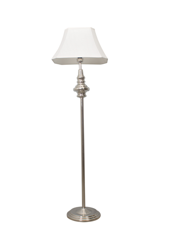 Taj Chrome Floor Lamp