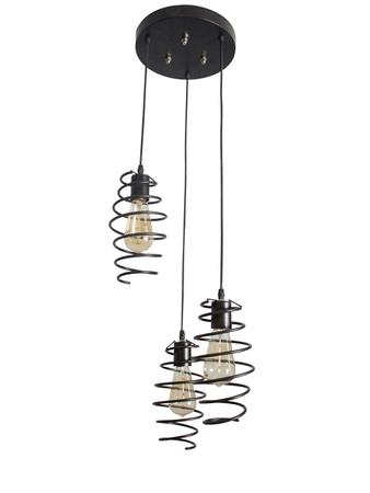Shocker Coil 3 Light Pendant Light