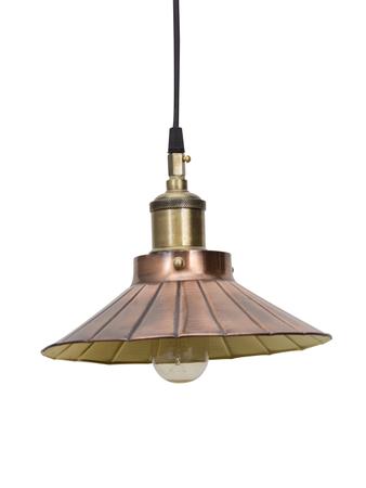 Copper Umbrella Pendant Light